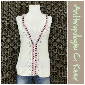 "Anthro ""Sewing Basket Top"" by C. Keer"